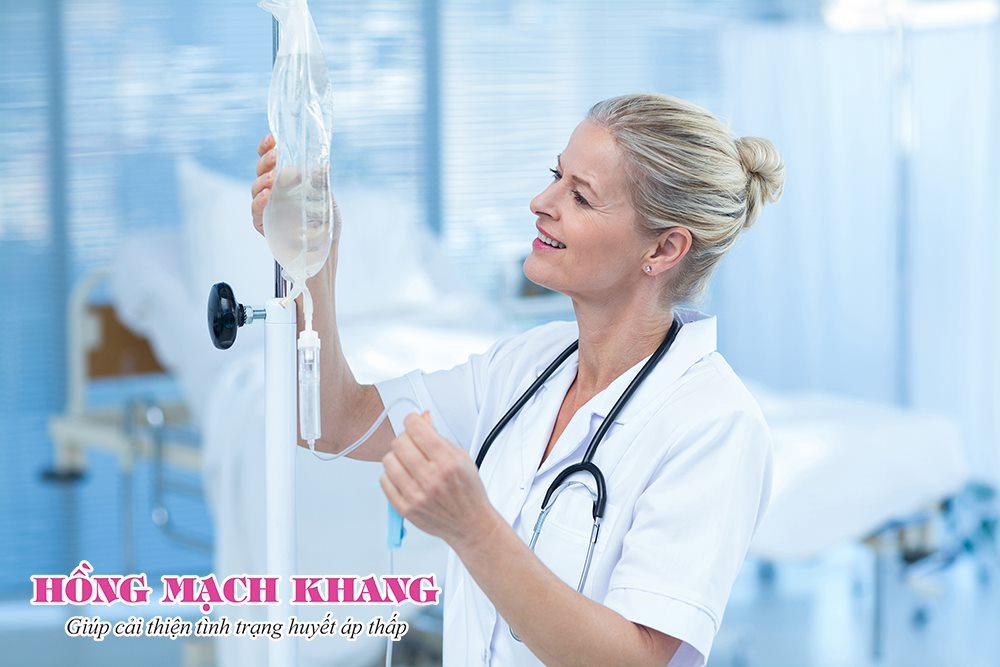 Truyền dịch nhằm mục đích điều trị hoặc phục hồi sức khỏe